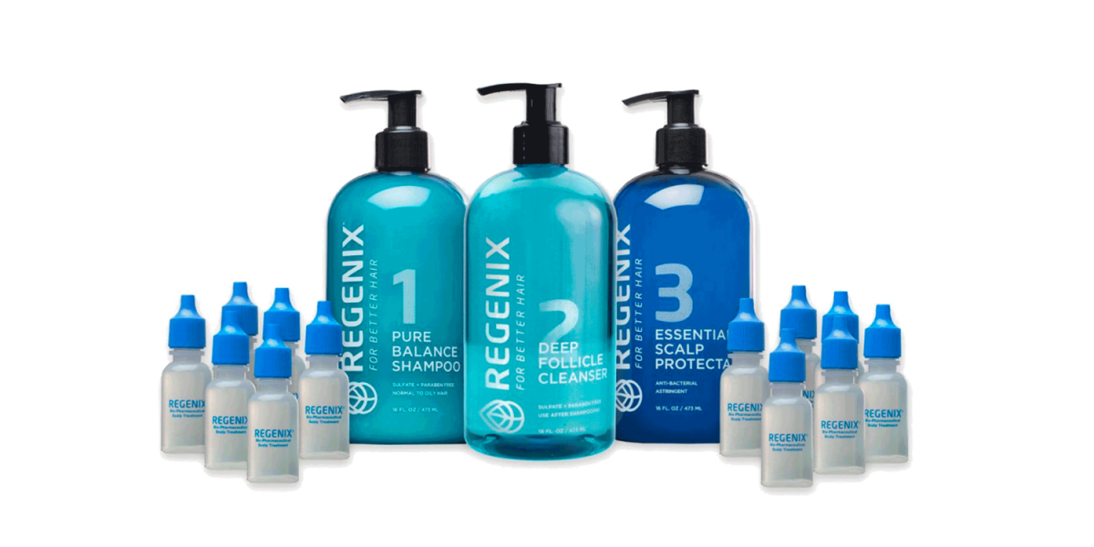 Regenix Starter Kit To Treat Hair Thinning & Hair Loss